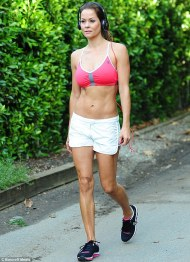 Brooke Burke's Abs